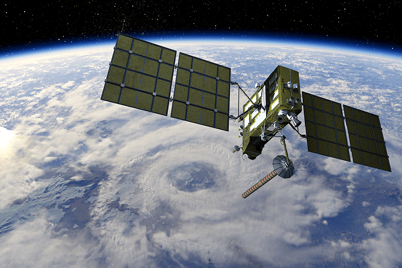 Marcom-B satelliet communicatie